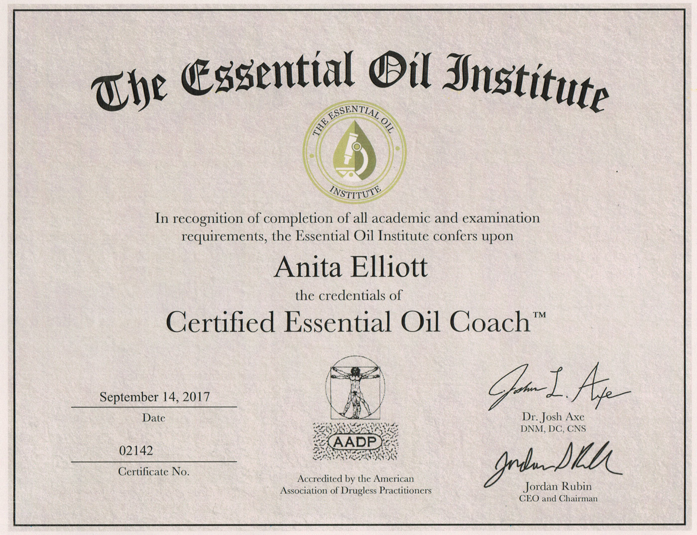 Dr axe essential oil institute reviews